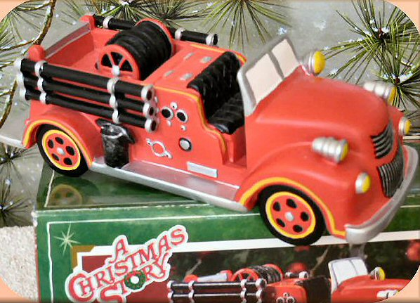 a christmas story fire truck - A Christmas Story Village