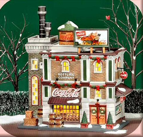 coca cola bottling company christmas in the city. Black Bedroom Furniture Sets. Home Design Ideas