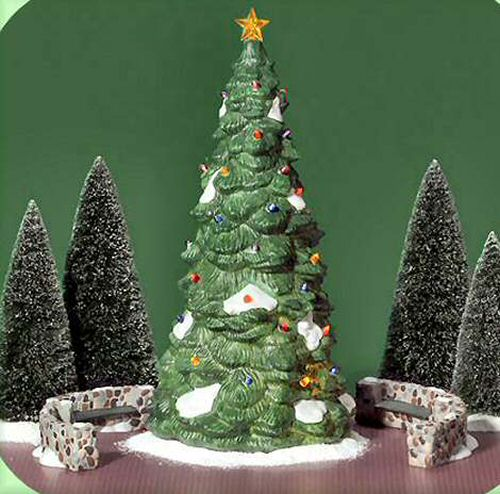 Department 56 Christmas Tree.Town Tree Christmas In The City