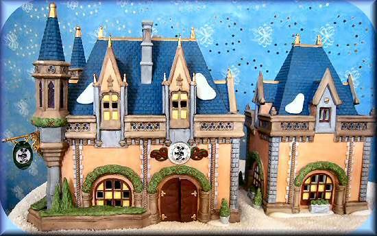 Mickeys Christmas Carol Disney Parks Village