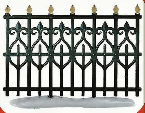 wrought iron fence victorian. Victorian Wrought Iron Fence Extensions General Accessories. \ Wrought Iron Fence Victorian Dept.56 Retirees