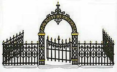 VICTORIAN WROUGHT IRON FENCE | HOW TO MAKE FENCE