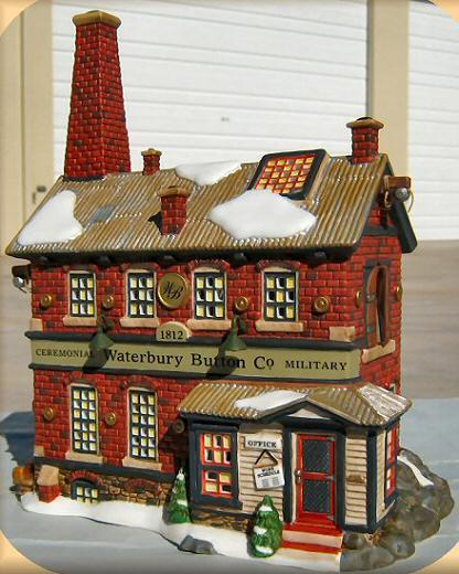 Waterbury Button Company New England Village