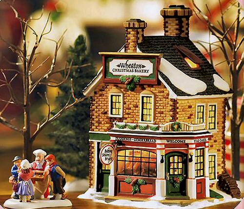 Wheaton Christmas Bakery New England Village