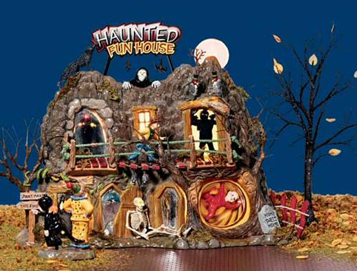 halloween haunted fun house