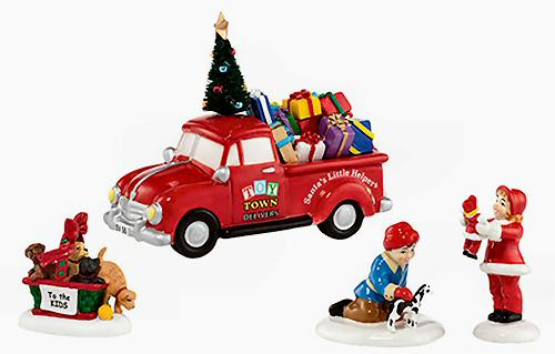Toys For Retirees : Toy town accessory set snow village